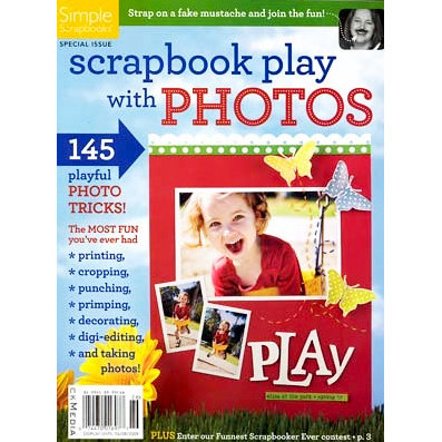 Simple Scrapbooks - Scrapbook Play with Photos, CLEARANCE