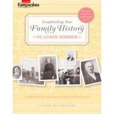 Creating Keepsakes - Family History Book , CLEARANCE