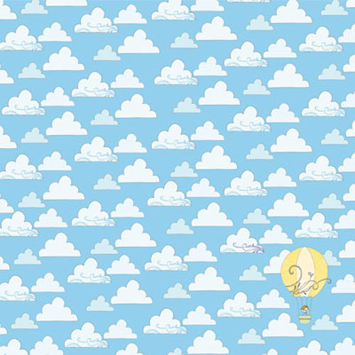 Clever Handmade - Above the Clouds Collection - 12 x 12 Shimmer Paper with Glitter Accents - Clouds