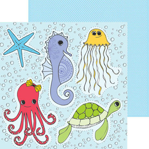Clever Handmade - Iron Ons - Sea Friends