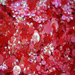 Clever Handmade - Sequins - Red