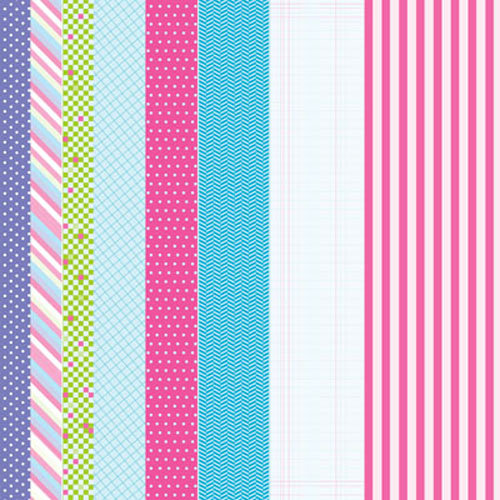 Clever Handmade - Beneath the Sea Collection - Cardstock Stickers - Borders