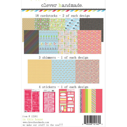 Clever Handmade - In This House Collection - 12 x 12 Collection Kit