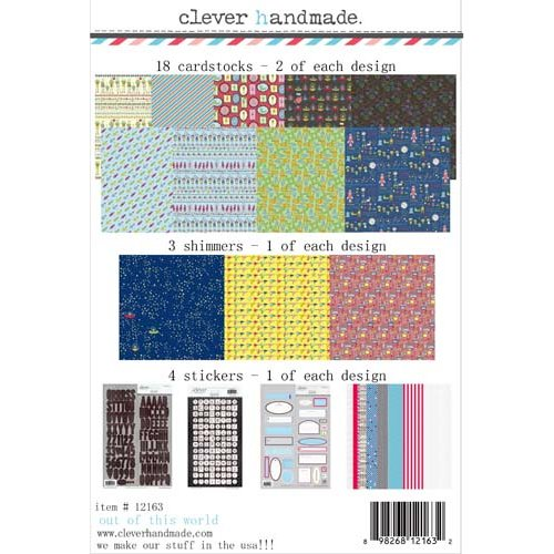 Clever Handmade - Beneath the Sea Collection - 12 x 12 Collection Kit