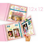 C-Line - Memory Book - Page Protectors - 12 x 12 Clear - Panoramic Fold-Out - 6 Pack