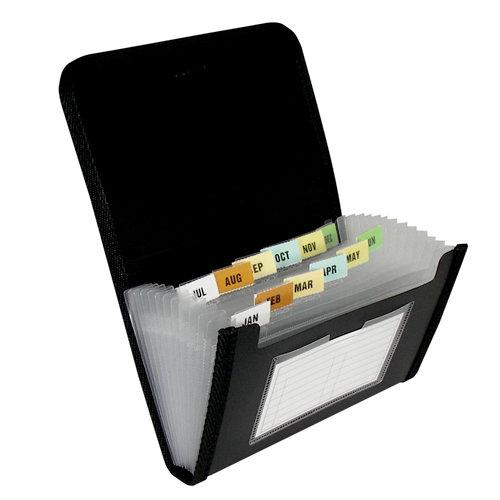 C-Line - Expanding File - 13-Pocket - Coupon Size - Circle Series