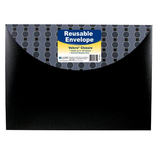 C-Line - Reusable Envelope with Velcro Closure - Circle Series