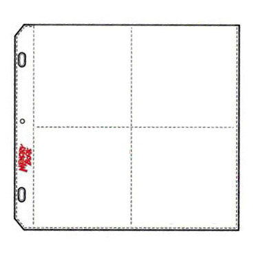 C-Line - Memory Book - Organizer Pages - 12 x 12 Clear - Four Fun Style - 10 Pack
