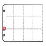 C-Line - Memory Book - Organizer Pages - 12 x 12 Clear - Sticker Stacker Style - 10 Pack