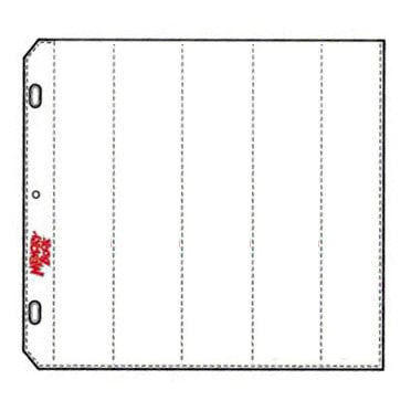 C-Line - Memory Book - Organizer Pages - 12 x 12 Clear - Strip Slip Style - 10 Pack