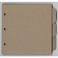 Clear Scraps - Chipboard Album - 8 x 8 Tab