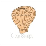 Clear Scraps - Chipboard Album - Balloon