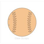 Clear Scraps - Chipboard Album - Baseball