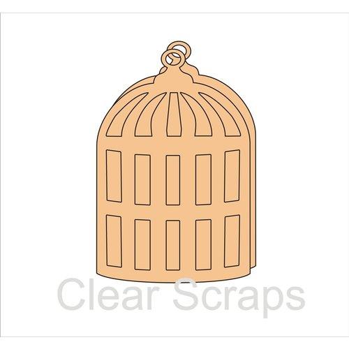 Clear Scraps - Chipboard Album - Bird Cage