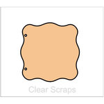 Clear Scraps - Chipboard Album - Wave