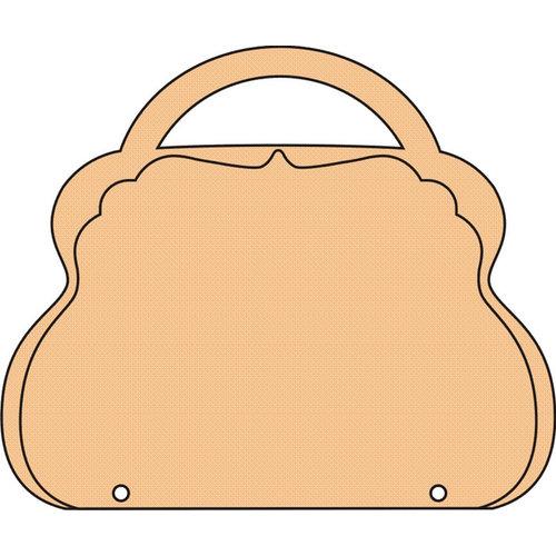 Clear Scraps - Chipboard Album - Deco Brag Bag