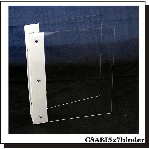 Clear Scraps - 5 x 7 Acrylic Binder