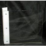 Clear Scraps - Build it Your Way - Clear Acrylic Binder with 2 Ring Binding - Fits 6.5 x 6.5 Inch Pages
