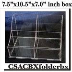 Clear Scraps - Acrylic Box - Folder