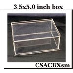 Clear Scraps - DIY Acrylic Box - Keepsake Box - Small