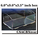 Clear Scraps - Acrylic Box - Tray
