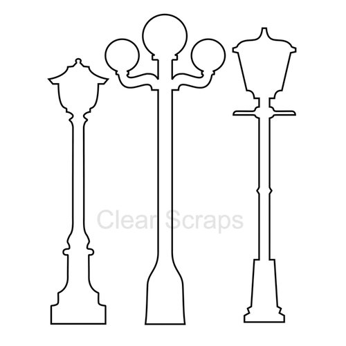 Clear Scraps - Clear Acrylic Shapes - Lamps
