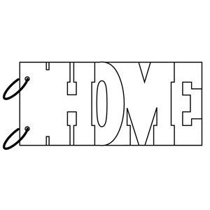 Clear Scraps - Clear Album Wordbook - Home, CLEARANCE