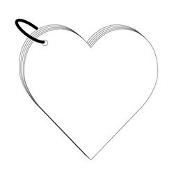 Clear Scraps - Clear Album - Heart, CLEARANCE
