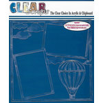 Clear Scraps - 12 x 12 Acrylic Layout - Air Balloon