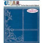 Clear Scraps - 12 x 12 Acrylic Layout - Flourish