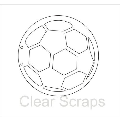 Clear Scraps - Clear Acrylic Album - Soccer
