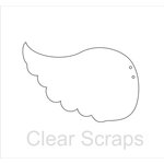 Clear Scraps - Clear Acrylic Album - Wings