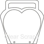 Clear Scraps - Clear Acrylic Album - Diva Brag Bag