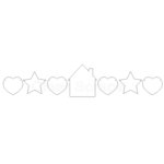 Clear Scraps - Clear Acrylic Banner - Home Sweet Home