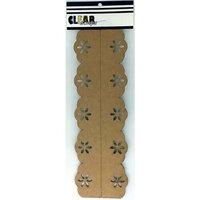 Clear Scraps - Chipboard Cut Apart Borders - Slimline - 2 Pack - Fancy Daisy