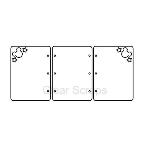 Clear Scraps - Cast Acrylic - Frames - Mouse