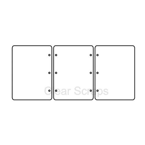 Clear Scraps - Cast Acrylic - Frames - Rectangle