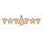 Clear Scraps - Chipboard Banner - Believe