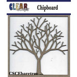 Clear Scraps - Chipboard Embellishments - Bare Tree