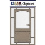 Clear Scraps - Chipboard Embellishments - Basic Door