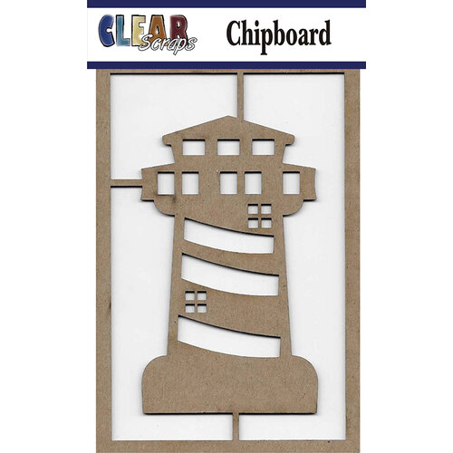 Clear Scraps - Chipboard Embellishments - Light House