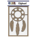 Clear Scraps - Chipboard Embellishments - Dream Catcher