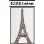 Clear Scraps - Chipboard Embellishments - Eifel Tower