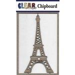 Clear Scraps - Chipboard Embellishments - Eifel Tower