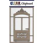 Clear Scraps - Chipboard Embellishments - Fancy Door