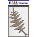 Clear Scraps - Chipboard Embellishments - Fern Branch