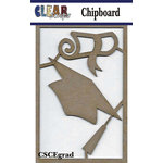 Clear Scraps - Chipboard Embellishments - Graduation Tree