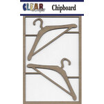 Clear Scraps - Chipboard Embellishments - Hangers