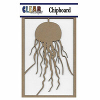 Clear Scraps - Chipboard Embellishments - Jellyfish