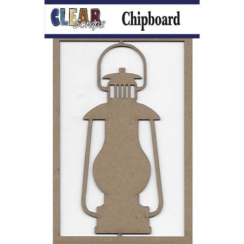 Clear Scraps - Chipboard Embellishments - Lantern